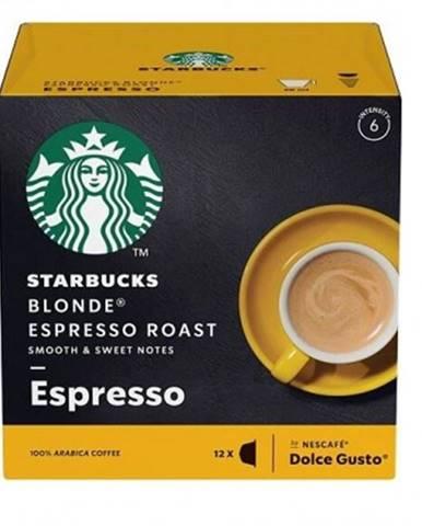Kapsle, náplně kapsle nescafé starbucks blonde espresso, 12ks