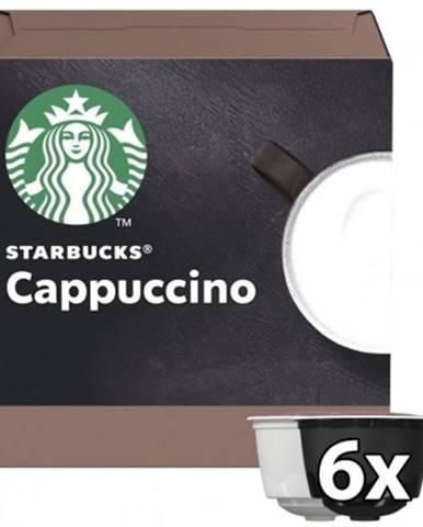 Kapsle, náplně kapsle nescafé starbucks cappuccino, 12ks