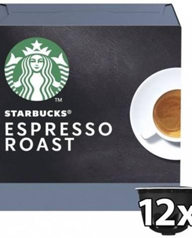 Kapsle, náplně kapsle nescafé starbucks dark espresso, 12ks