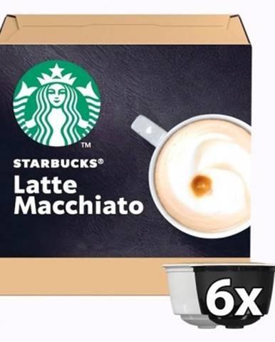 Kapsle, náplně kapsle nescafé starbucks latte macchiato, 12ks