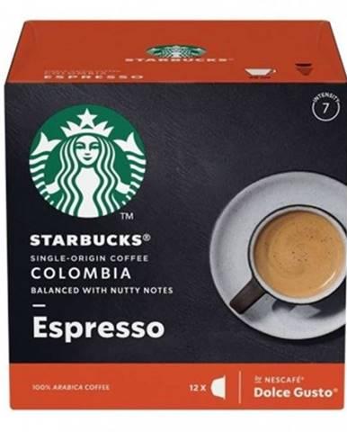 Kapsle, náplně kapsle nescafé starbucks medium espresso, 12ks