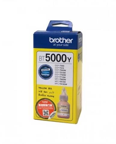 Náplně a tonery - originální cartridge brother bt5000y, žlutá