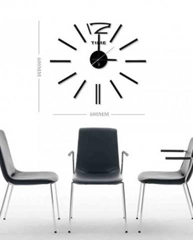 Nástěnné hodiny - h20, 50 cm, černá
