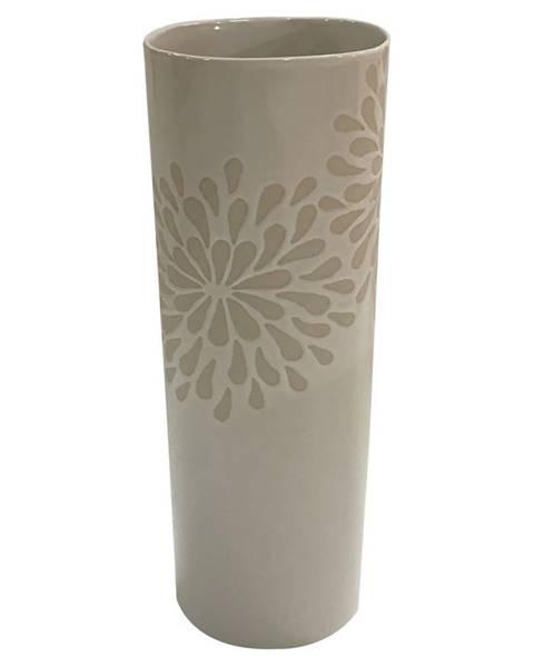 Ambia Home Ambia Home VÁZA, keramika, 25 cm - bílá