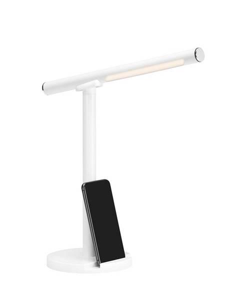 Voleo LED LAMPA NA PSACÍ STŮL, dotykový stmívač, 14/14/37 cm - bílá