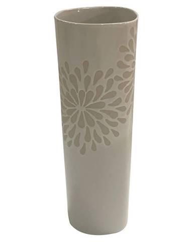 Ambia Home VÁZA, keramika, 31 cm - bílá