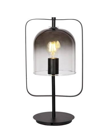 Dieter Knoll STOLNÍ LAMPA, E27, 21/16/40 cm - černá