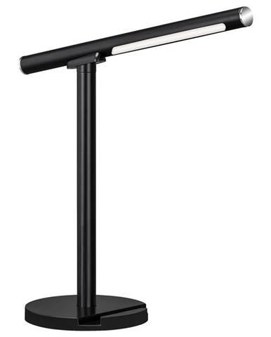 LED LAMPA NA PSACÍ STŮL, dotykový stmívač, 14/14/37 cm - černá