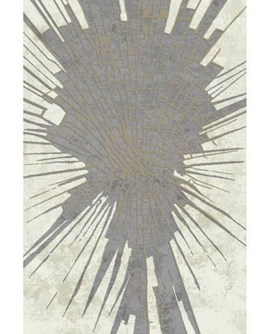 Novel TKANÝ KOBEREC, 160/230 cm, šedá, béžová - šedá, béžová