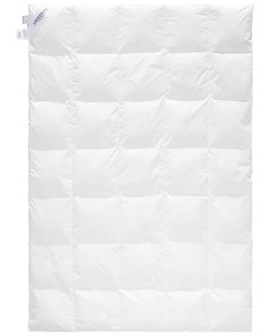 Sleeptex CELOROČNÍ PŘIKRÝVKA, 140/200 cm, prachové peří - bílá