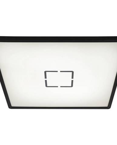 STROPNÍ LED SVÍTIDLO, 42/2,9/42 cm - černá, bílá