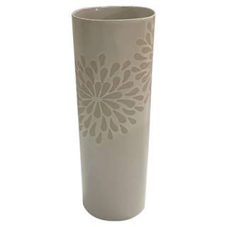 Ambia Home VÁZA, keramika, 25 cm - bílá