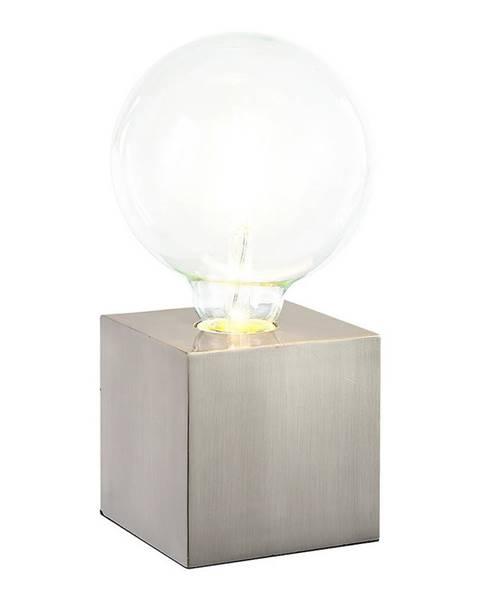 Xora Xora STOLNÍ LAMPA, E27, 10/10/10 cm - barvy niklu