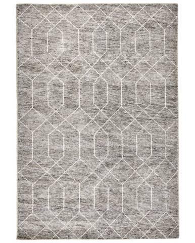 Linea Natura RUČNĚ TKANÝ KOBEREC, 70/140 cm, šedá - šedá