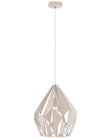 Marama ZÁVĚSNÉ SVÍTIDLO, E27/60 W, 31/150 cm - světle růžová