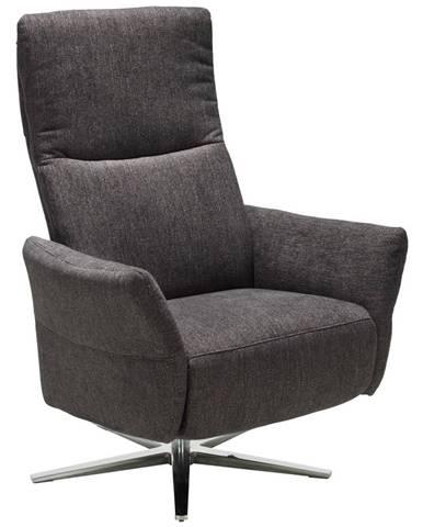 Pure Home Comfort RELAXAČNÍ KŘESLO, textil, antracitová - antracitová
