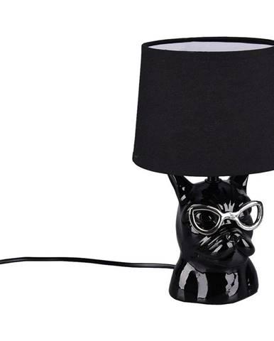 STOLNÍ LAMPA, E14, 18/29 cm - černá, barvy chromu