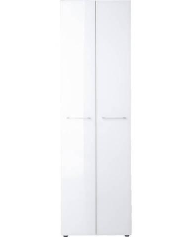 Xora ŠATNÍ SKŘÍŇ, bílá, 59/197/40 cm - bílá