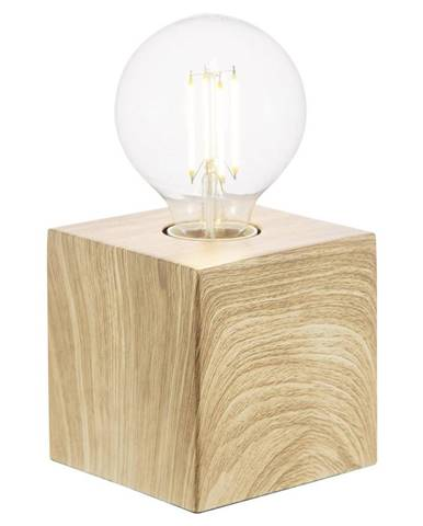 Xora STOLNÍ LAMPA, E27, 10/10/10 cm - barvy dubu, světle hnědá