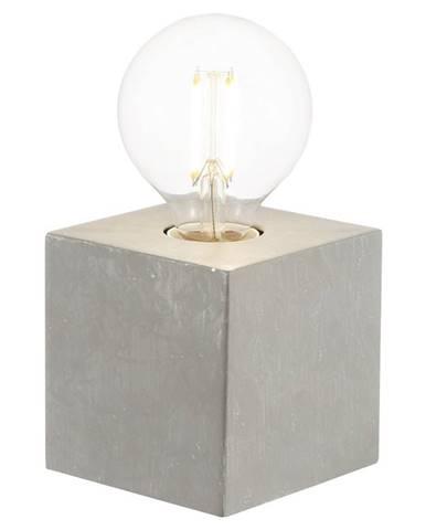 Xora STOLNÍ LAMPA, E27, 10/10/10 cm - šedá