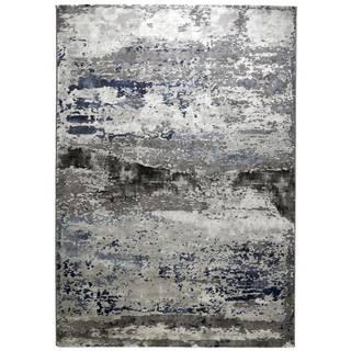 Novel TKANÝ KOBEREC, 133/190 cm, modrá, barvy stříbra - modrá, barvy stříbra