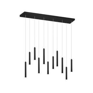 ZÁVĚSNÉ LED SVÍTIDLO, 115/15/150 cm - černá