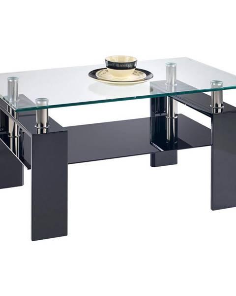 Boxxx Boxxx KONFERENČNÍ STOLEK, černá, sklo, kompozitní dřevo, 110/55/60 cm - černá