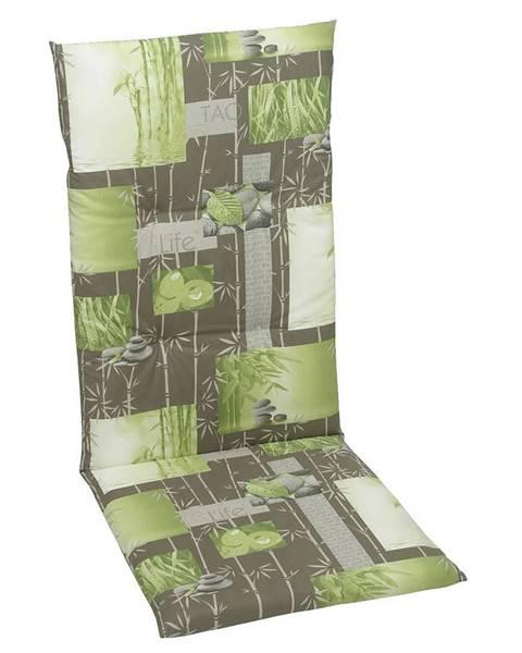 Sleeptex PODLOŽKA NA ŽIDLI, 48/5/108 cm - šedá, zelená, světle zelená