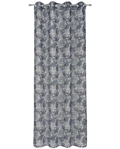 Esposa ZÁVĚS S KROUŽKY, neprůsvitné, 135/245 cm - vícebarevná
