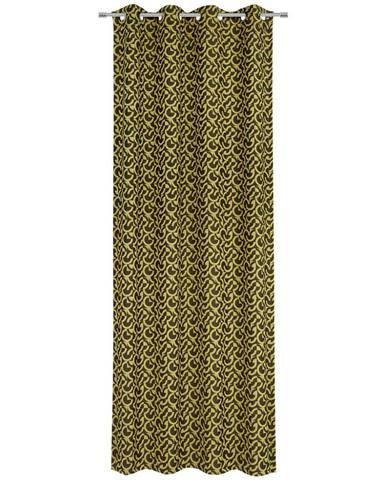 Esposa ZÁVĚS S KROUŽKY, zatemnění, 140/245 cm - vícebarevná