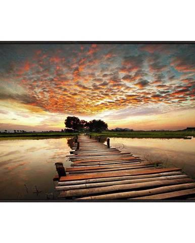 Monee OBRAZ SKLENĚNÝ, krajina & příroda, 120/80 cm - vícebarevná