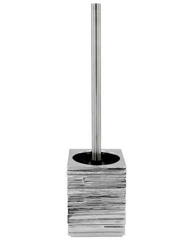 Sadena WC SADA - ŠTĚTKA A DRŽÁK - barvy stříbra, světle šedá
