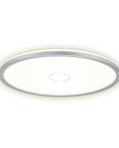 STROPNÍ SVÍTIDLO, 42/2,9 cm - barvy stříbra, bílá