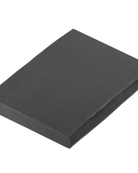 Novel Novel PROSTĚRADLO NAPÍNACÍ, žerzej, šedá, 180/200 cm - šedá