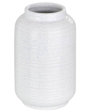 Ambia Home VÁZA, keramika, 23 cm - bílá