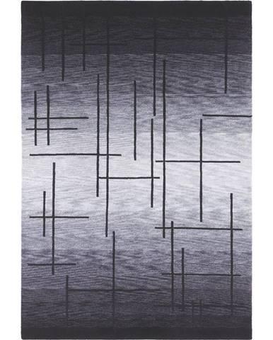 Esposa KOBEREC ORIENTÁLNÍ, 90/160 cm, šedá, černá - šedá, černá