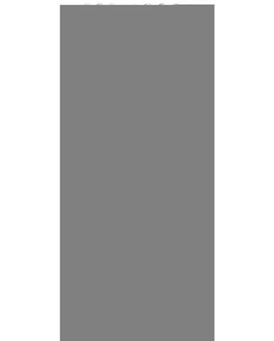 Esposa ZÁVĚS, poloprůhledné, 135/245 cm - šedá