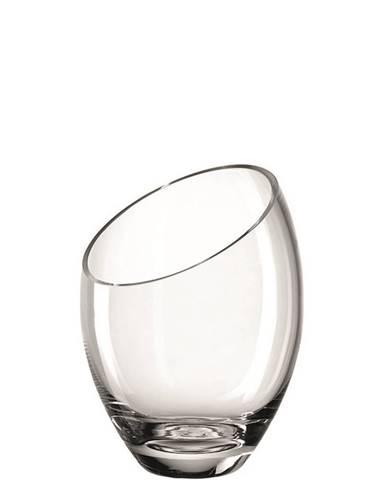 Leonardo VÁZA, sklo, 21,00 cm - průhledné