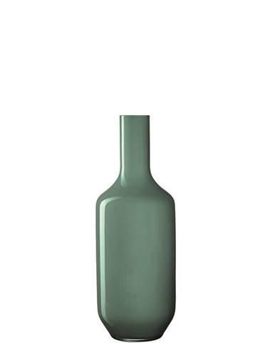 Leonardo VÁZA, sklo, 39,00 cm - mátově zelená