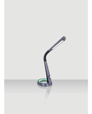 Novel LED LAMPA NA PSACÍ STŮL, otočný stmívač, 34,3/18,3/64 cm - černá