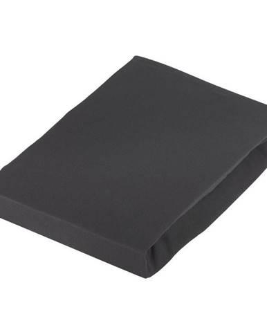 Novel PROSTĚRADLO NAPÍNACÍ, žerzej, černá, 180/200 cm - černá