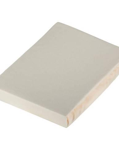 Novel PROSTĚRADLO NAPÍNACÍ, žerzej, krémová, 180/200 cm - krémová