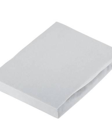 Novel PROSTĚRADLO NAPÍNACÍ, žerzej, šedá, 180/200 cm - šedá