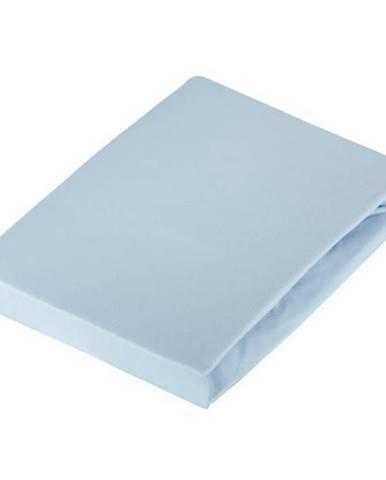 Novel PROSTĚRADLO NAPÍNACÍ, žerzej, světle modrá, 180/200 cm - světle modrá