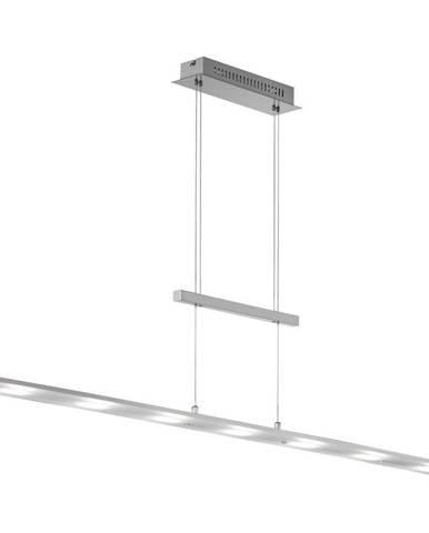 ZÁVĚSNÉ LED SVÍTIDLO, 135 cm - bílá, barvy chromu, barvy niklu