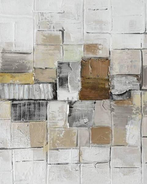 Monee Monee OLEJOMALBA, abstraktní, 55/55 cm - vícebarevná
