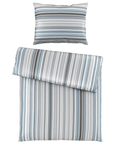 Esposa POVLEČENÍ, satén, modrá, 140/200 cm - modrá