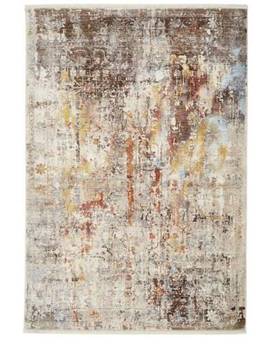 Esposa VINTAGE KOBEREC, 120/153 cm, šedá, vícebarevná - šedá, vícebarevná