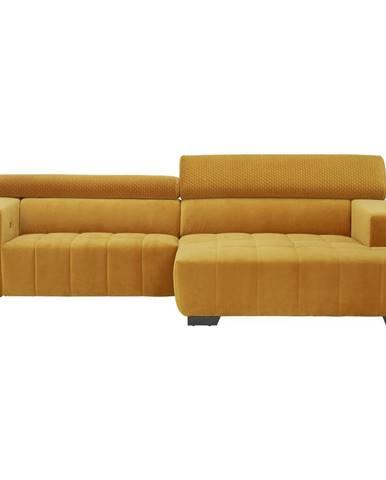 Hom`in SEDACÍ SOUPRAVA, textil, žlutá - žlutá
