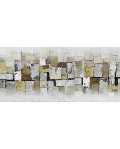 Monee OLEJOMALBA, abstraktní, 150/55 cm - vícebarevná